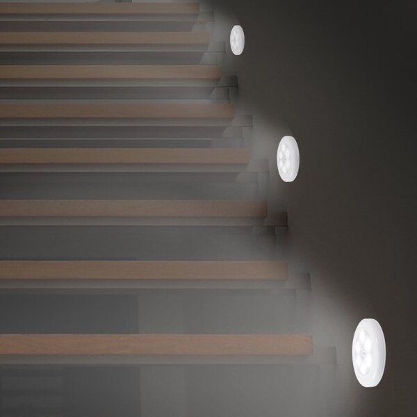 LED Motion Sensor Night Light by Lusana Studio