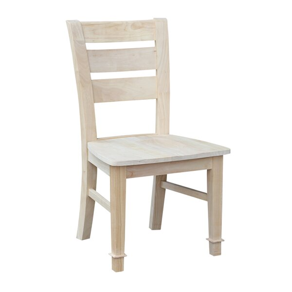 Unfinished Solid Wood Dining Chair (Set of 2) by International Concepts