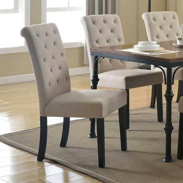 Kenzo Upholstered Dining Chair (Set of 2) by Alcott Hill