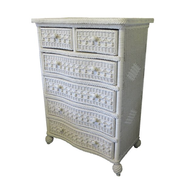 Classic 5 Drawer Dresser by Yesteryear Wicker