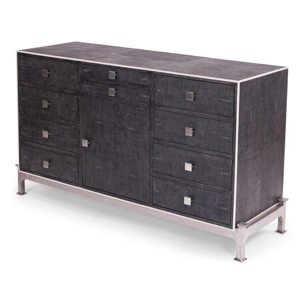 Gentleman's 10 Drawer and 1 Door Accent Cabinet by Sarreid Ltd