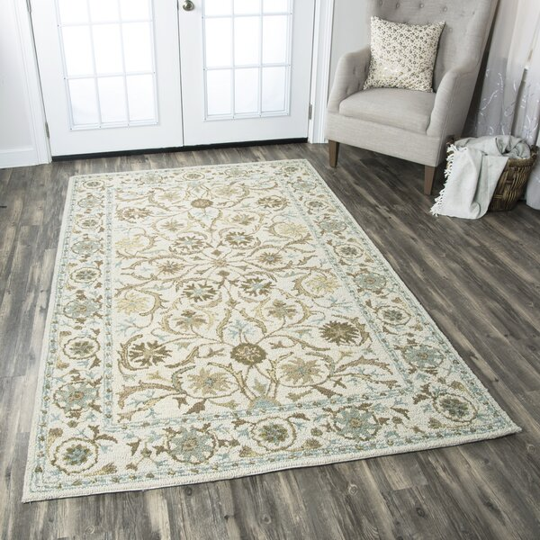 Suzanne Tufted Wool Area Rug by Birch Lane™