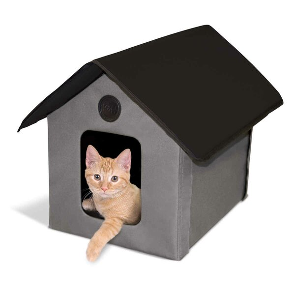 Unheated Outdoor Cat House by K&H Manufacturing