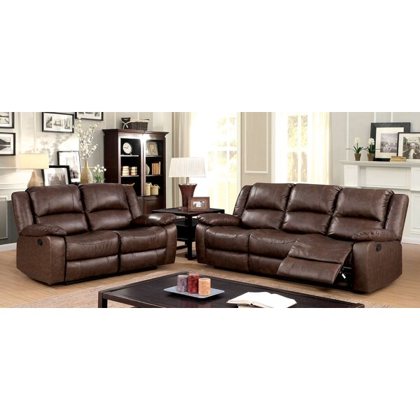Karst Reclining 2 Piece Living Room Set by Alcott Hill