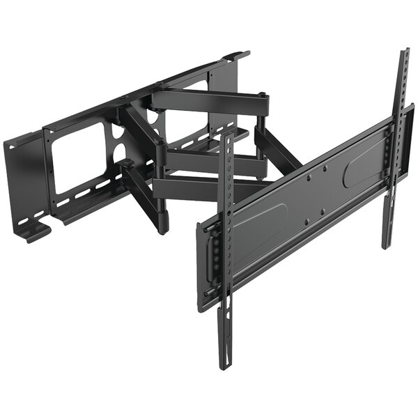 Full-Motion Cantilever Tilt Wall Mount for 56–90 Flat Panel Screens by Level Mount