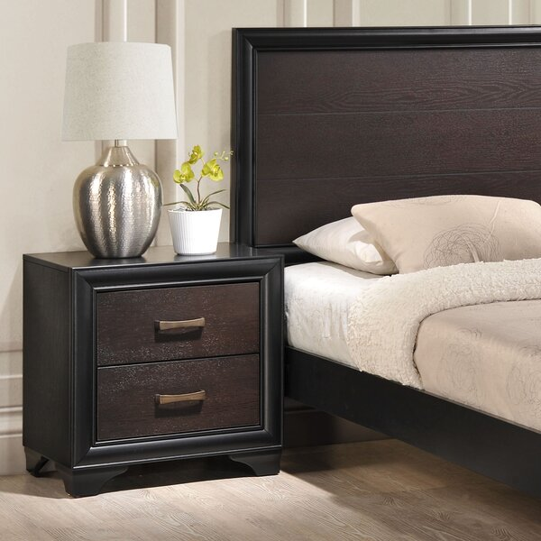 Madison 2 Drawer Nightstand by Modway