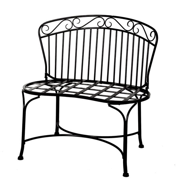 Alasan Steel Garden Bench by Charlton Home