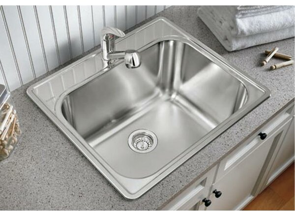 25'' x 22'' Drop-In Service Sink by Blanco
