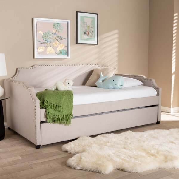 Burgan Twin Daybed With Trundle By House Of Hampton