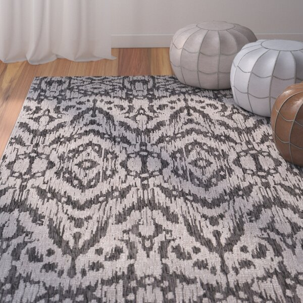 Fonwhary Gray Indoor/Outdoor Area Rug by Bungalow Rose