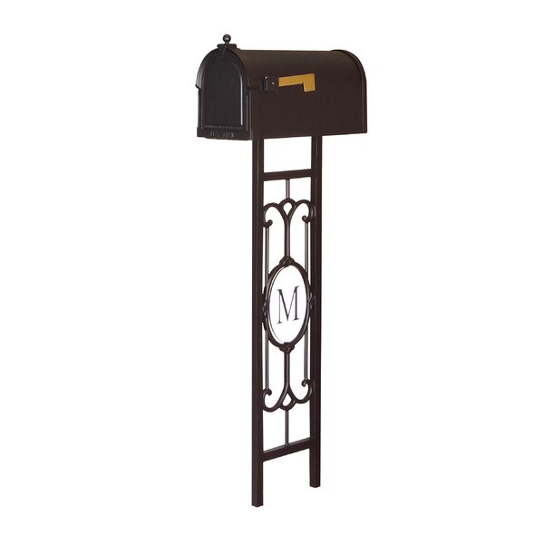 Berkshire Curbside Mailbox with Post Included by Special Lite Products