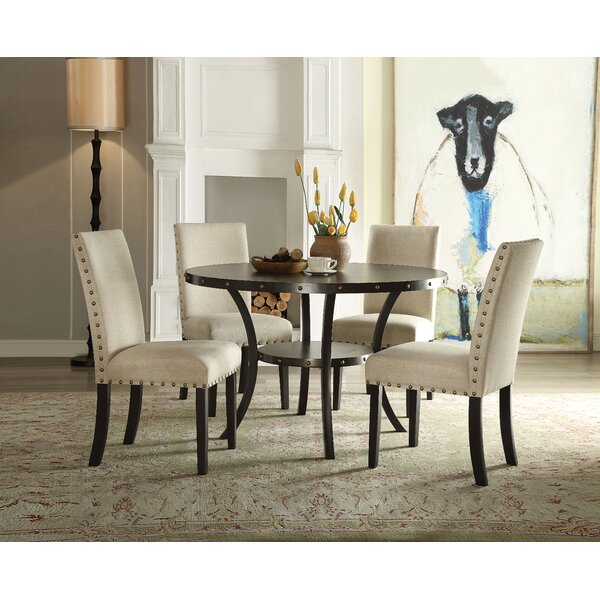 Bezu 5 Piece Dining Set by Gracie Oaks