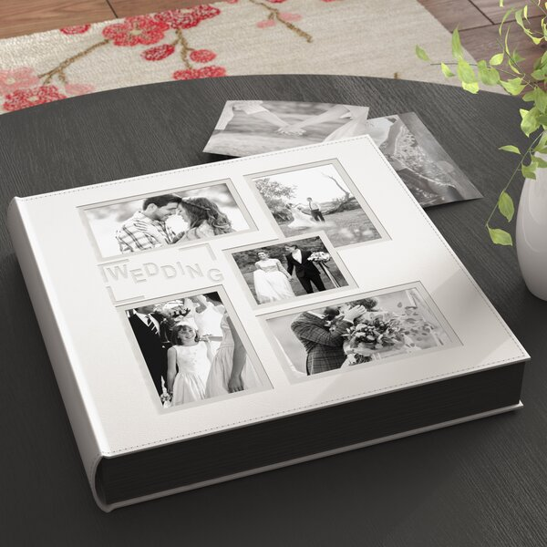 4''x6'' Wedding Book Photo Album by Red Barrel Studio