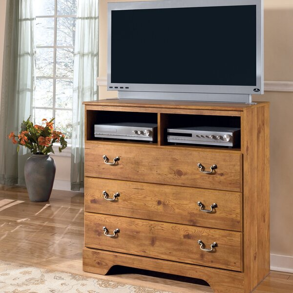 Cheyanne 3 Drawer Media Chest by August Grove