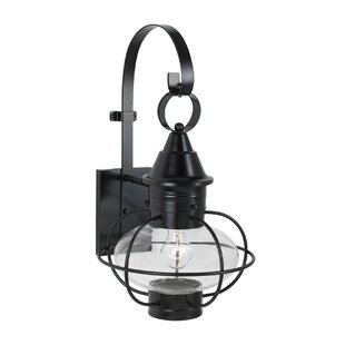 Compare Lyla 1-Light Outdoor Wall Lantern By Gracie Oaks