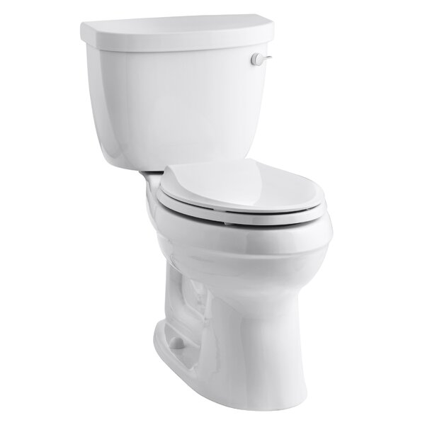 Cimarron Comfort Height 1.28 GPF Elongated Two-Piece by Kohler
