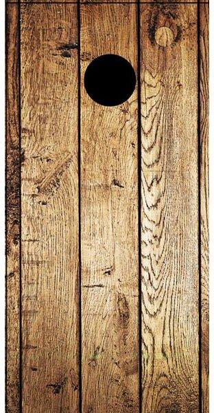 Weathered Wood Cornhole Board by Lightning Cornhole