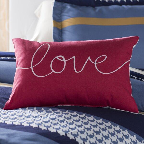 Ursula Love Mix and Match Lumbar Pillow by Andover Mills