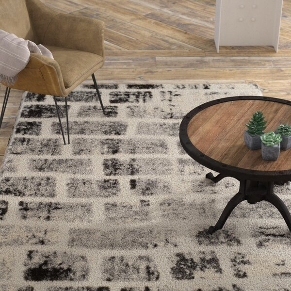 Eisley Gray Area Rug by Williston Forge