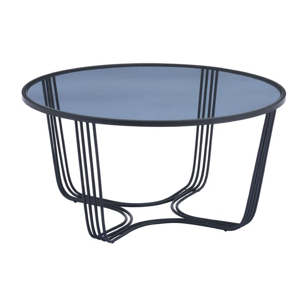 Lynde Coffee Table With Tray Top By Ivy Bronx