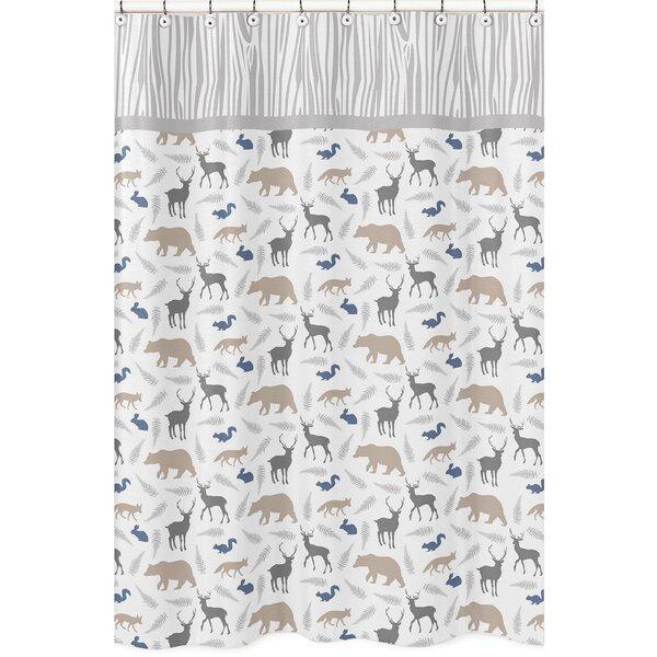 Woodland Animals Shower Curtain by Sweet Jojo Designs