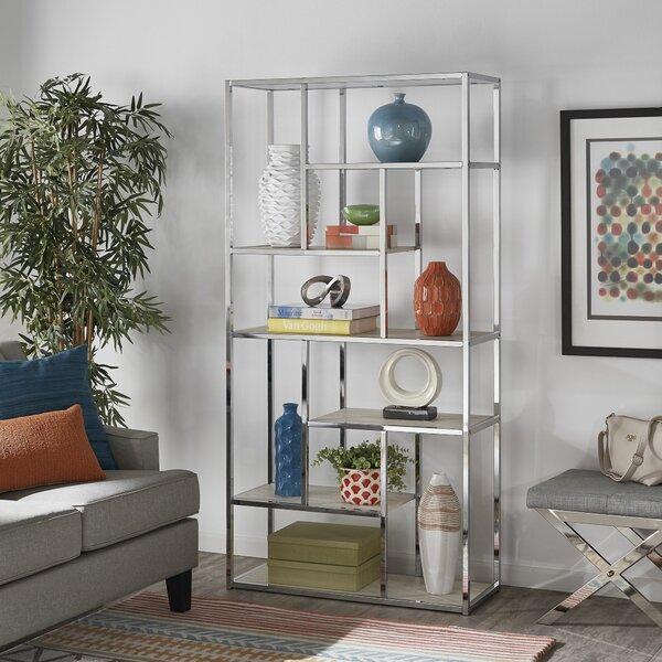 Enochs Geometric Bookcase By Brayden Studio