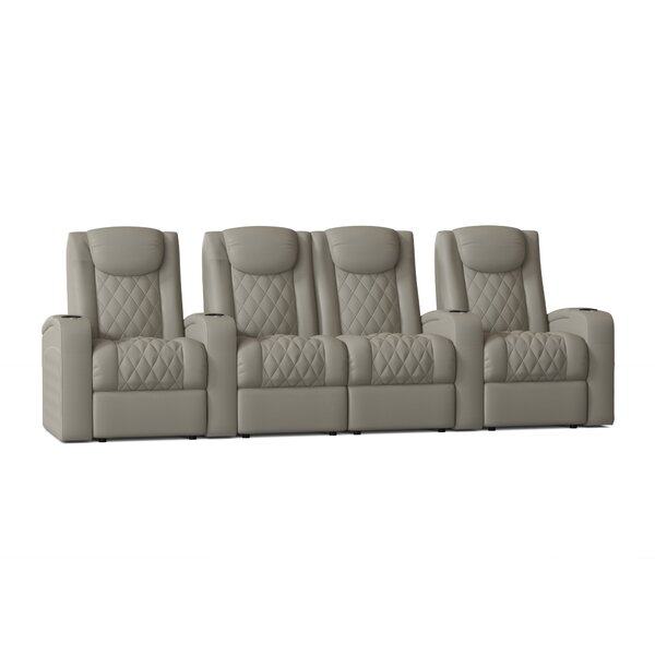 Azure Series Home Theater Configurable Seating (Row Of 4) By Red Barrel Studio®