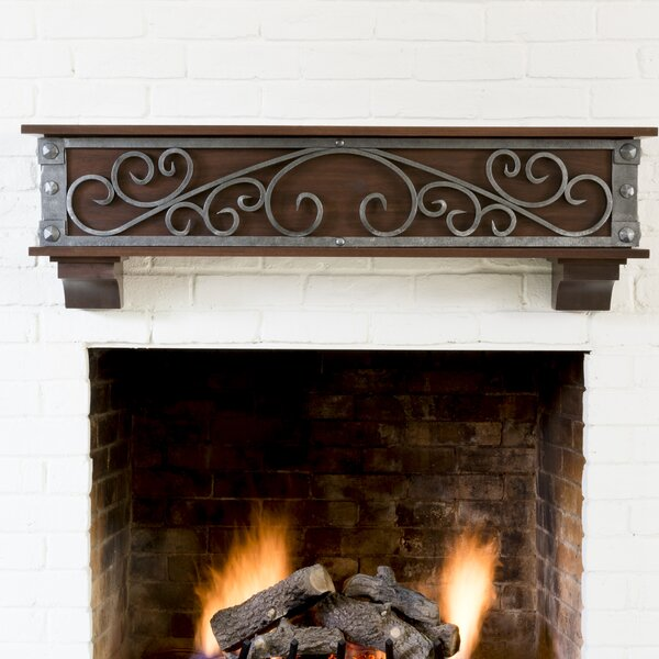 Symphony Fireplace Shelf Mantel by Ornamental Designs