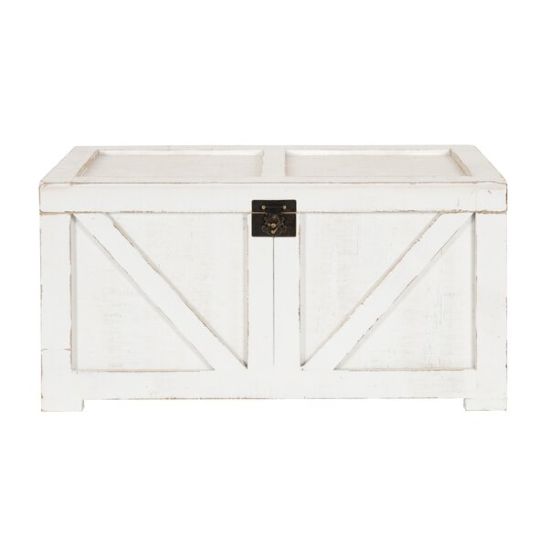 Lonan Farmhouse Storage Accent Chest by Gracie Oaks