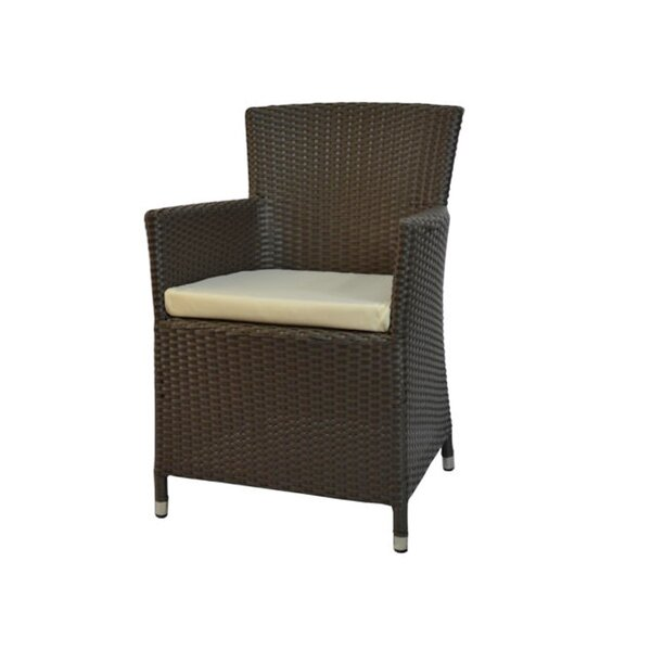 Resto Patio Dining Chair with Cushion by Feruci