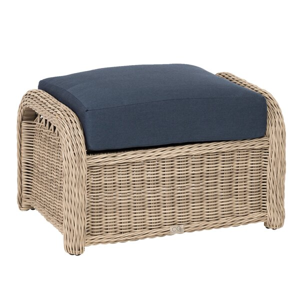 Barns Ottoman with Cushion by Darby Home Co