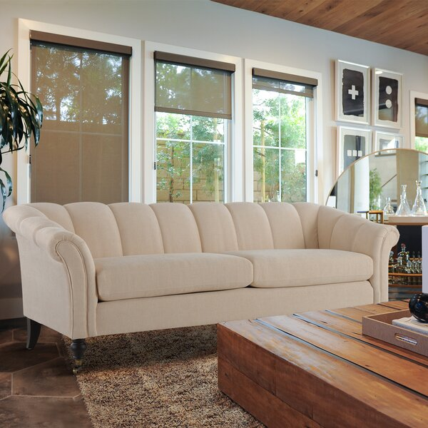 Lomonaco Flared Arm Sofa by Rosdorf Park