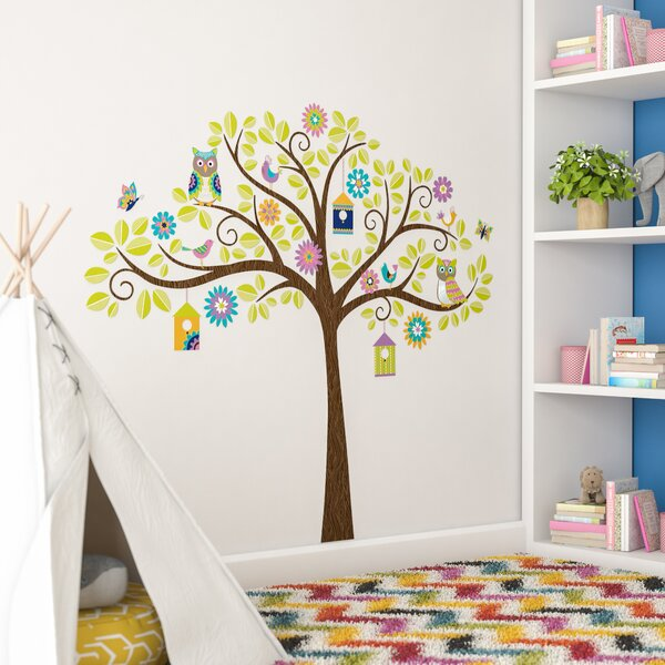 Jacob Owl Tree Wall Decal by Viv + Rae