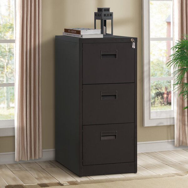 Willingham 3-Drawer Mobile Vertical Filing Cabinet by Symple Stuff