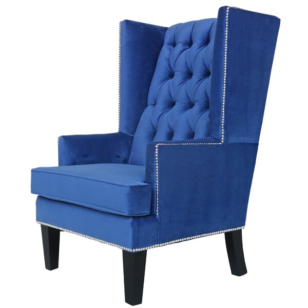 Searle Wingback Chair By Everly Quinn