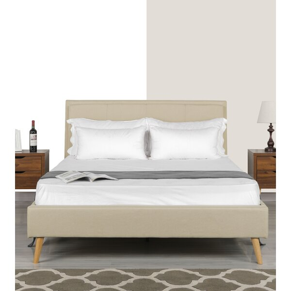 Crumpton Upholstered Platform Bed by George Oliver