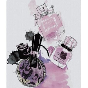 'Perfumes' Graphic Art on Wrapped Canvas by House of Hampton