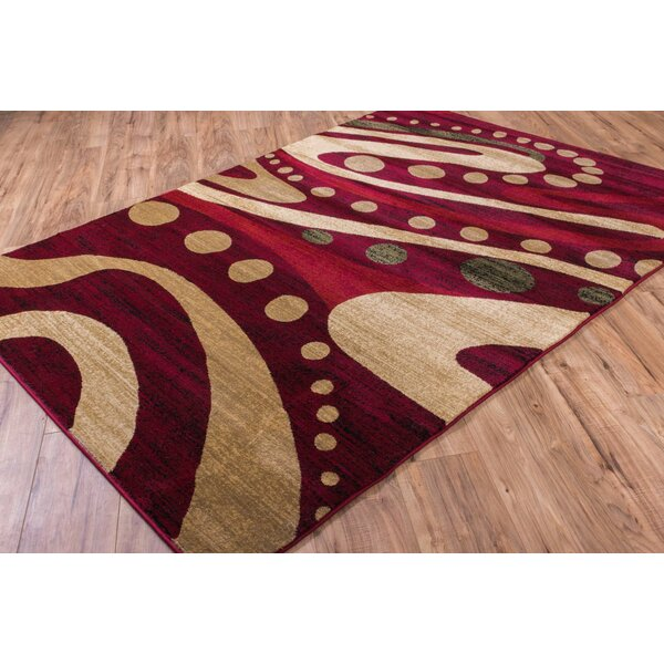Wallaby Avalon Red Area Rug by Well Woven