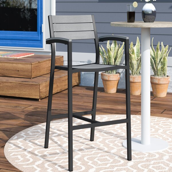 Ellport 28.5 Patio Bar Stool by Latitude Run| @ $233.25