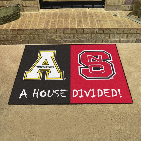 House Divided - NC State / Appalachian State Doormat by FANMATS