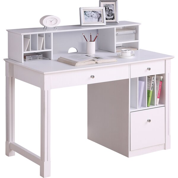Weldon Computer Desk with Hutch
