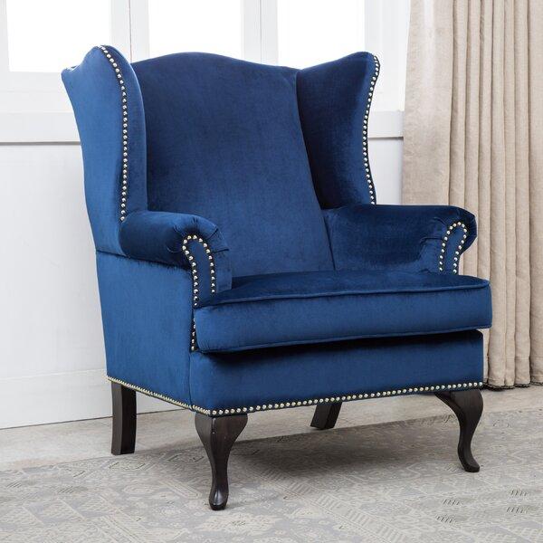 Shamar Wingback Chair by Rosdorf Park
