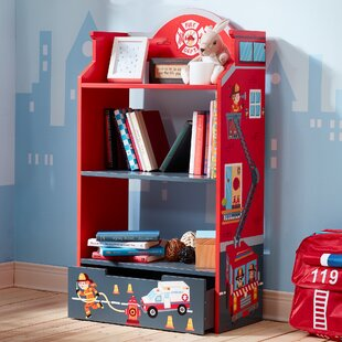 Compare & Buy Little Fire Fighters 42.5 Bookcase ByFantasy Fields