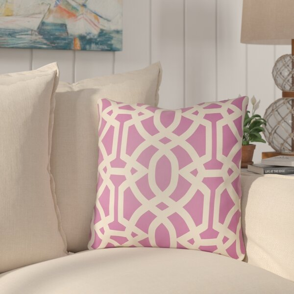 Courson Indoor/Outdoor Throw Pillow By Highland Dunes