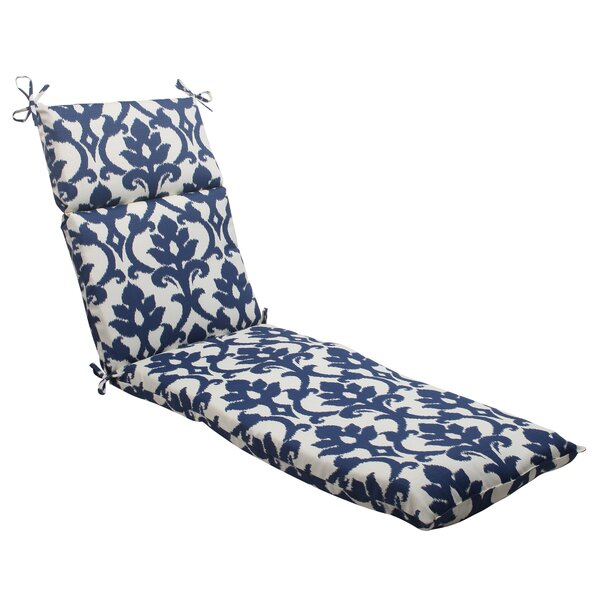 Edmond Indoor/Outdoor Chaise Lounge Cushion by Darby Home Co