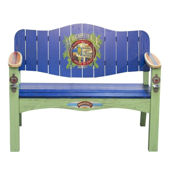 Port of Indecision Poplar Garden Bench by Margaritaville
