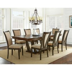 Extending Dining Room Table Fascinating Alcott Hill Sachem Extendable Dining Table & Reviews  Wayfair Design Ideas