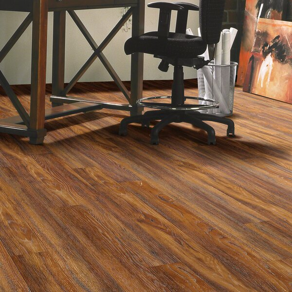 Promenade 5 x 48 x 10mm Hickory Laminate Flooring by Shaw Floors