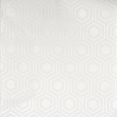 "Coburg Paintable 33' x 20.5"" Geometric Wallpaper Roll Ebern Designs"
