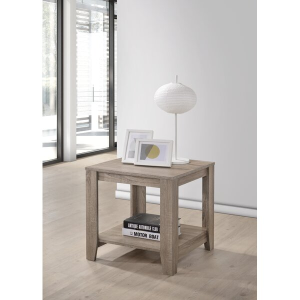 Hille End Table by Highland Dunes